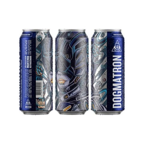 Cerveja Dogma Dogmatron Double IPA Lata - 473ml