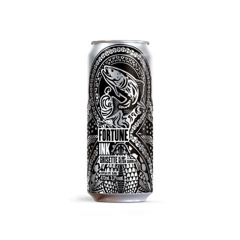 Cerveja Dádiva Fortune Ink Grisette Lata - 473ml