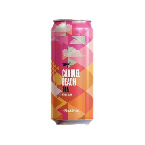 Cerveja Dádiva Carmel Beach West Coast IPA Lata - 473ml