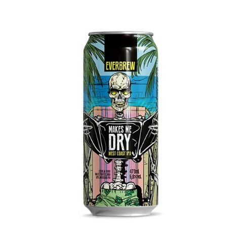 Cerveja EverBrew Makes Me Dry West Coast IPA Lata - 473ml