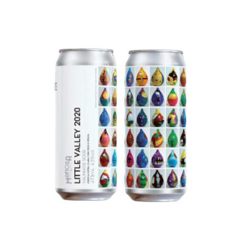 Cerveja Mafiosa Little Valley 2020 Sour Ale C/ Figo Roxo Lata - 473ml