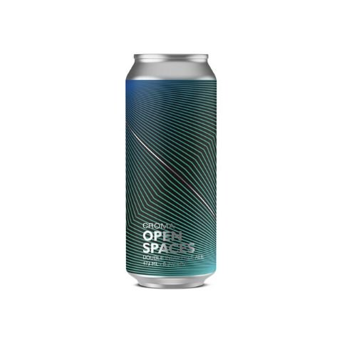 Cerveja Croma Open Spaces Double IPA Lata - 473ml