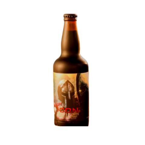 Cerveja Spartacus ICON Biscotti e Caffè Pastry Imperial Stout C/ Café, Amêndoas e Baunilha - 500ml