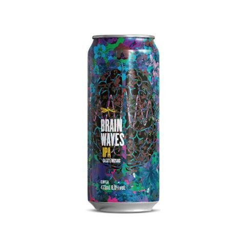 Cerveja Dádiva Brain Waves New England IPA Lata - 473ml