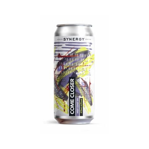 Cerveja Synergy Come Closer West Coast IPA Lata - 473ml