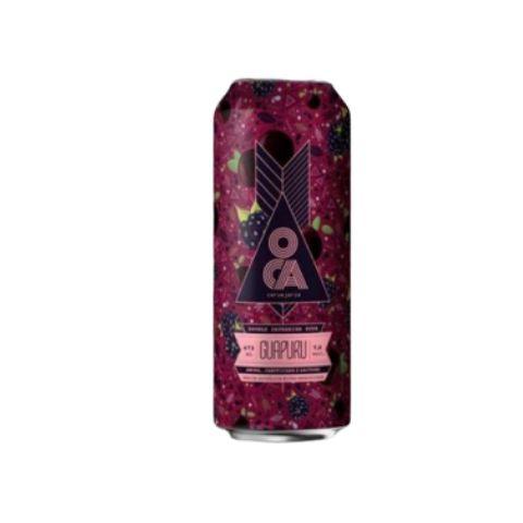 Cerveja Oca Guapuru Double Catharina Sour C/ Amora, Jabuticaba e Lactose Lata - 473ml