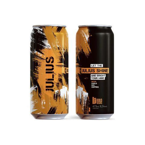 Cerveja Bold Brewing Julius Shine New England IPA Lata - 473ml