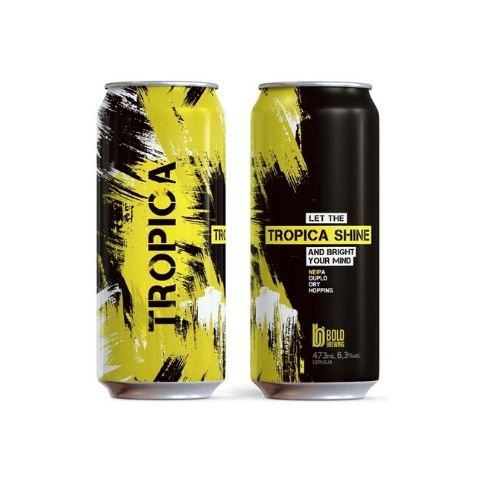 Cerveja Bold Brewing Tropica Shine New England IPA Lata - 473ml