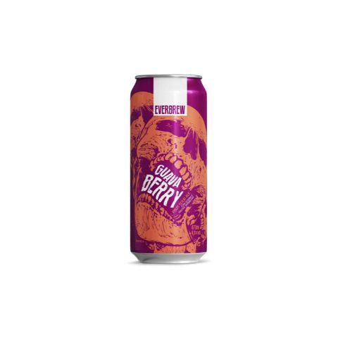 Cerveja EverBrew Guava Berry Fruit Sour Ale C/ Goiaba e Frutas Vermelhas Lata - 473ml