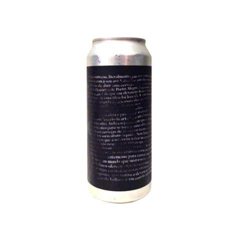 Cerveja Devaneio do Velhaco Pai É Quem Cria Rice Lager Lata - 473ml