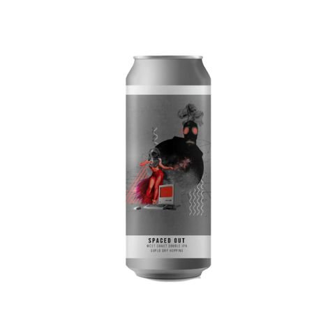 Cerveja Octopus Spaced Out Double West Coast IPA Lata - 473ml