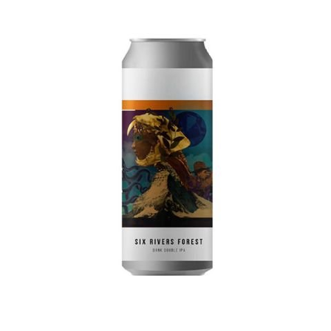 Cerveja Octopus Six Rivers Forest Dank Double IPA Lata - 473ml