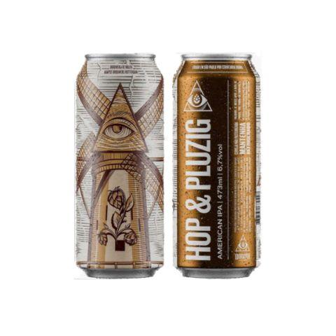 Cerveja Dogma + De Molen + Kaapse Hop & Pluzig American IPA Lata - 473ml