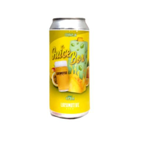 Cerveja Locomotive Brew Juice Box New England IPA Lata - 473ml