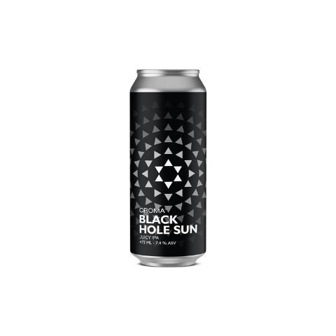 Cerveja Croma Black Hole Sun Juicy IPA Lata - 473ml