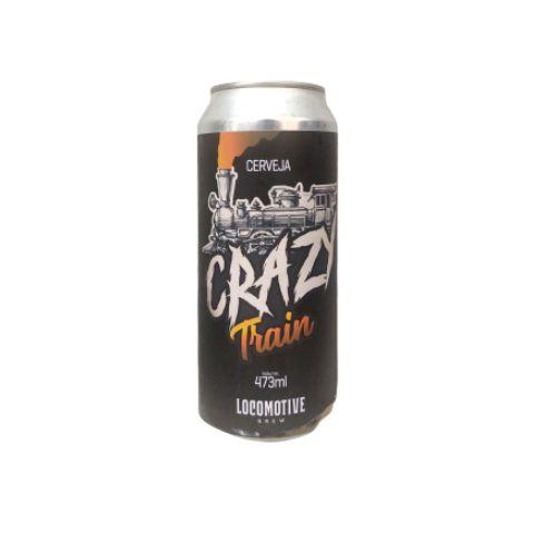 Cerveja Locomotive Brew Crazy Train Extra Pale Ale Lata - 473ml