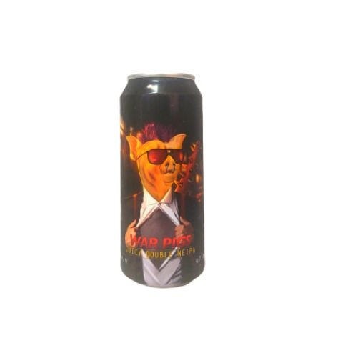 Cerveja Spartacus War Pigs Double New England IPA Lata - 473ml