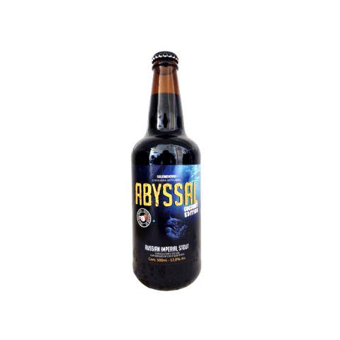 Cerveja 5 Elementos Abyssal Coconut Edition Russian Imperial Stout C/ Coco Queimado - 500ml