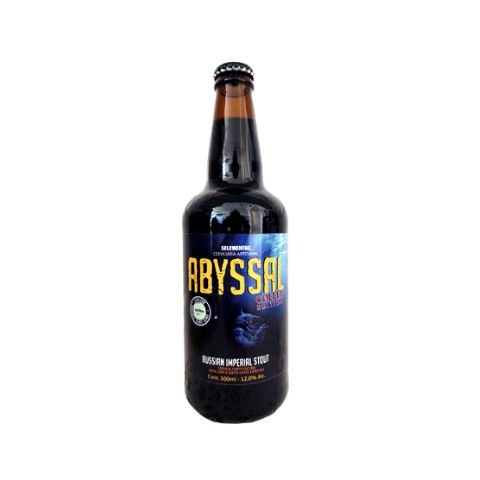 Cerveja 5 Elementos Abyssal Coffee Edition Russian Imperial Stout C/ Café -500ml