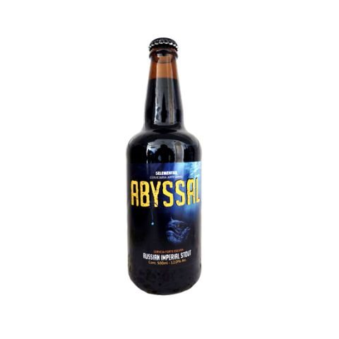 Cerveja 5 Elementos Abyssal Russian Imperial Stout - 500ml