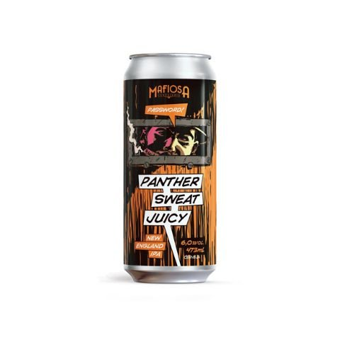 Cerveja Mafiosa Password! Panther Sweat Juicy New England IPA Lata - 473ml