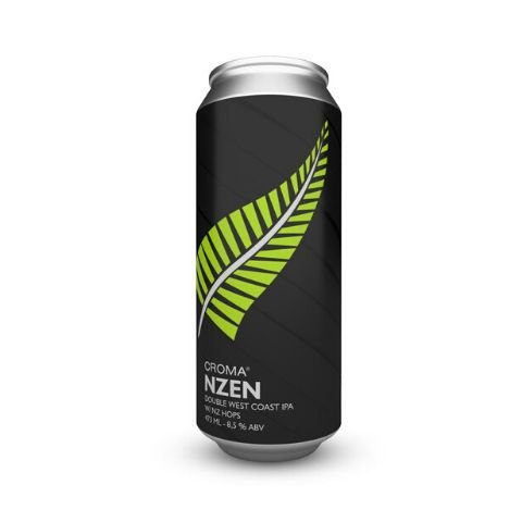 Cerveja Croma NZen Double West Coast IPA Lata - 473ml