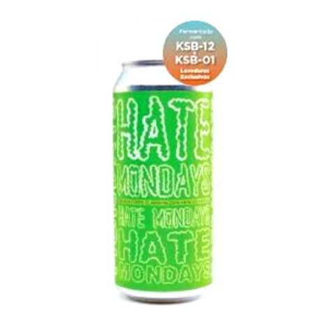 Cerveja Koala San Brew Hate Mondays KSB-01 x KSB-12 Double New England IPA Lata - 473ml