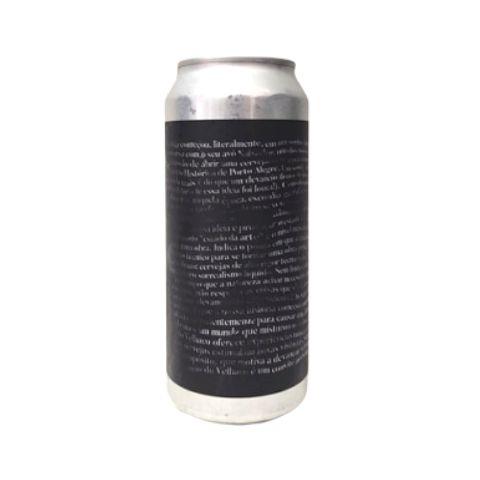 Cerveja Devaneio do Velhaco Condenado A Ser Livre Double IPA Híbrida Lata - 473ml