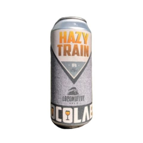 Cerveja Locomotive Brew Hazy Train India Pale Ale C/ Tangerina Lata - 473ml