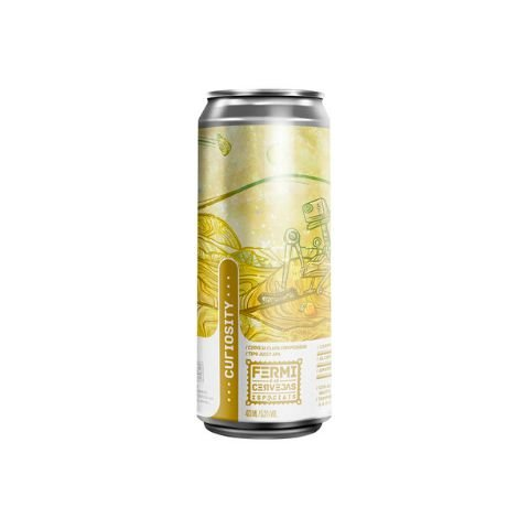 Cerveja Fermi Curiosity New England APA Lata - 473ml