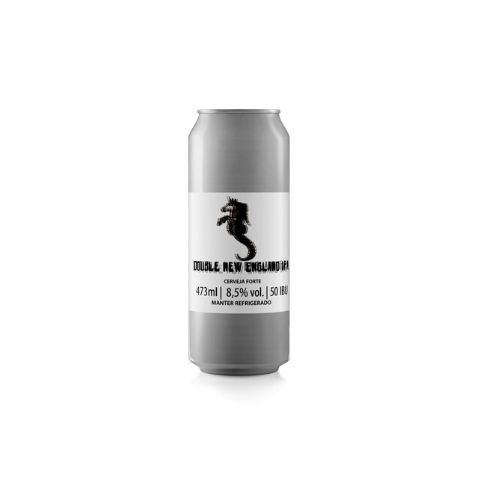 Cerveja Bodoque Double New England IPA (Ekuanot + Mosaic) Lata - 473ml