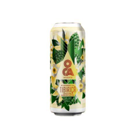Cerveja Oca Tibiriçá Milkshake IPA C/ Baunilha e Lactose Lata - 473ml