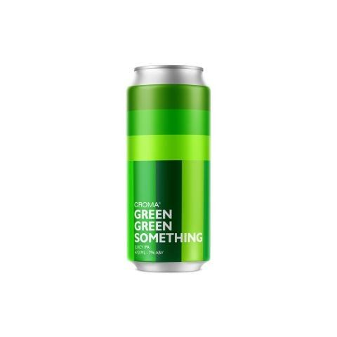 Cerveja Croma Green Green Something Juicy IPA Lata - 473ml