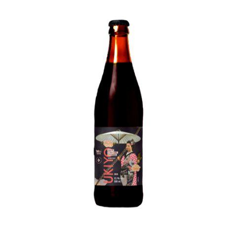 Cerveja Dádiva + Japas Ukiyo Safra 2020 Russian Imperial Stout C/ Uvas - 500ml