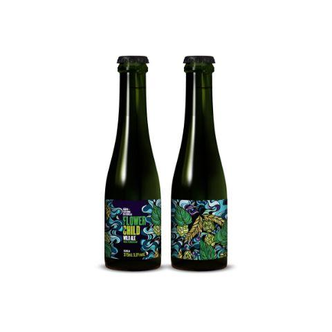 Cerveja Dádiva + Quitanda da Cerveja Flower Child Wild Ale Mixed Fermentation - 375ml