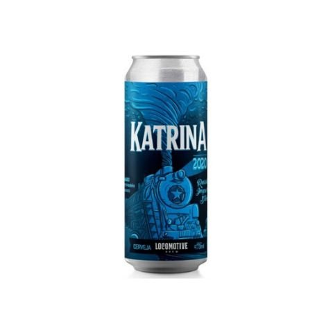 Cerveja Locomotive Brew Katrina 2020 Amburana Wood Aged Russian Imperial Stout Lata - 473ml