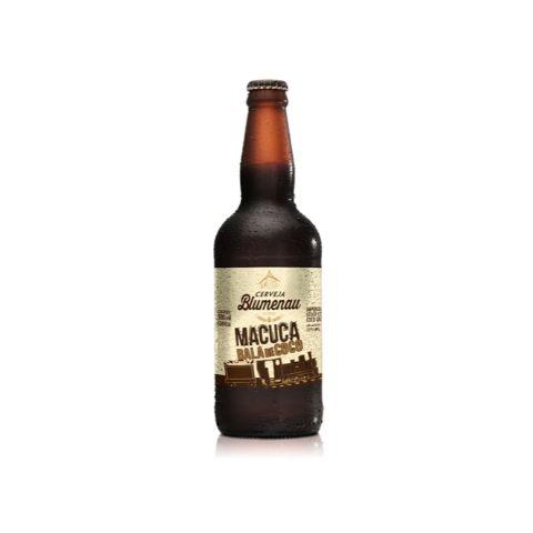 Cerveja Macuca Bala de Coco Imperial Stout C/ Coco Queimado - 500ml