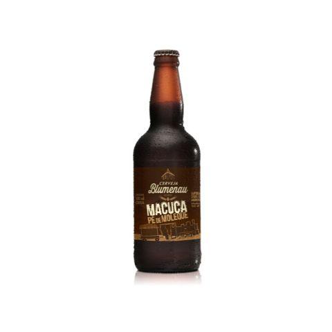 Cerveja Blumenau Macuca Pé de Moleque Imperial Stout C/ Amendoim - 500ml