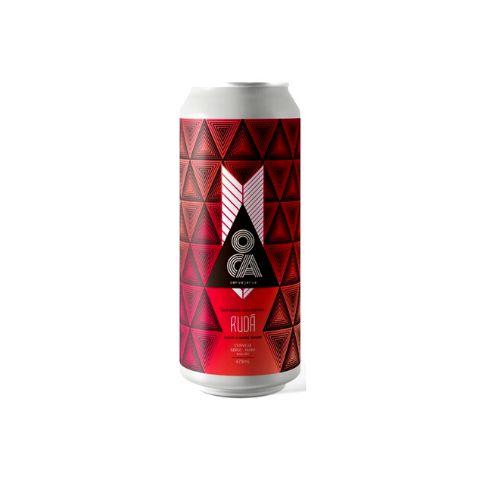 Cerveja Oca Rudá Double New England IPA Lata - 473ml