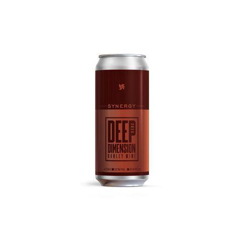 Cerveja Synergy Deep Dimension American Barleywine Lata - 473ml