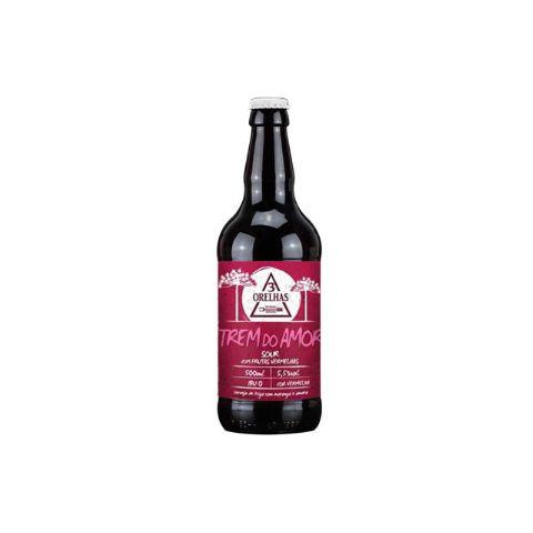 Cerveja 3 Orelhas Trem do Amor Sour Ale C/ Frutas Vermelhas - 500ml
