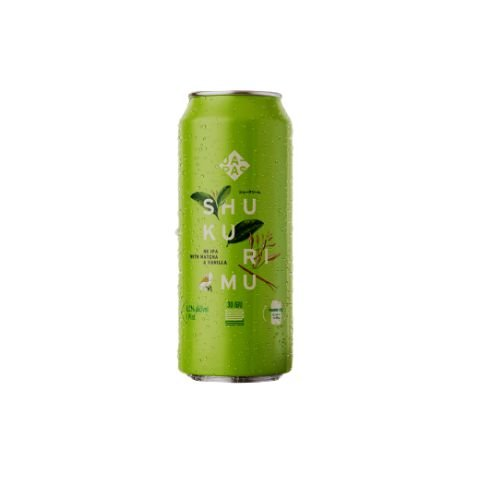 Cerveja Japas Shukumiru New England IPA C/ Matchá e Baunilha Lata - 473ml