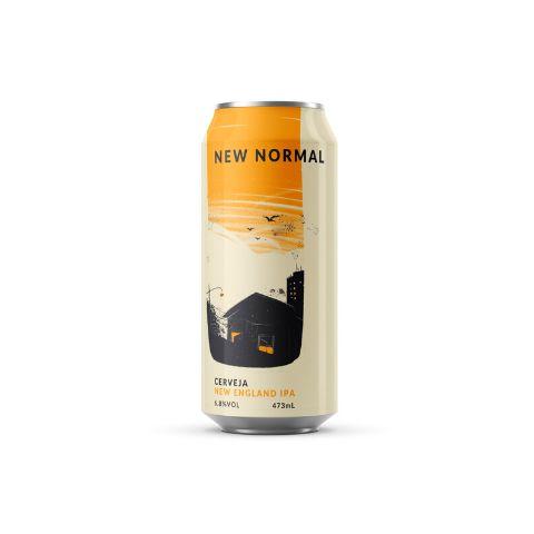 Cerveja Carioca Brewing Co. New Normal New England IPA Lata - 473ml