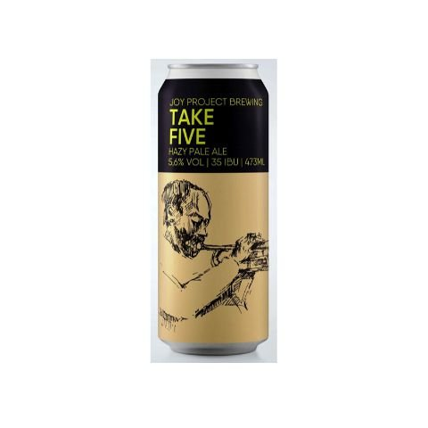 Cerveja Joy Project Take Five Hazy Pale Ale Lata - 473ml