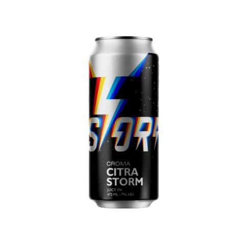 Cerveja Croma Citra Storm Juicy IPA Lata - 473ml