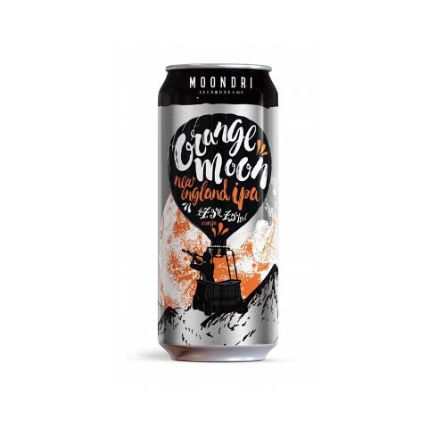 Cerveja Moondri Orange Moon New England IPA Lata - 473ml
