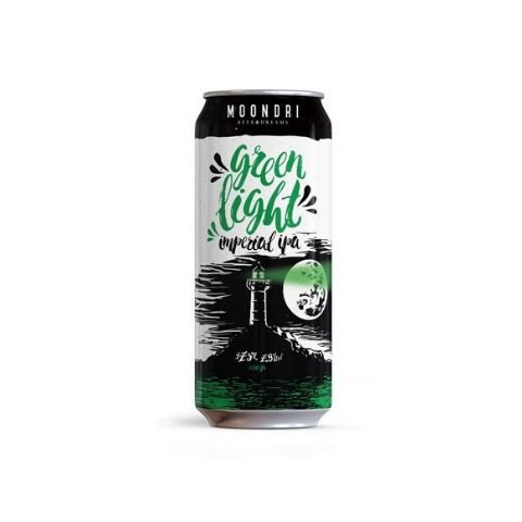 Cerveja Moondri Green Light Imperial IPA Lata - 473ml