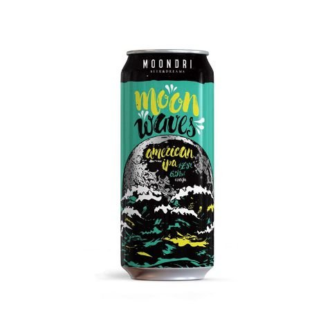 Cerveja Moondri Moon Waves American IPA Lata - 473ml