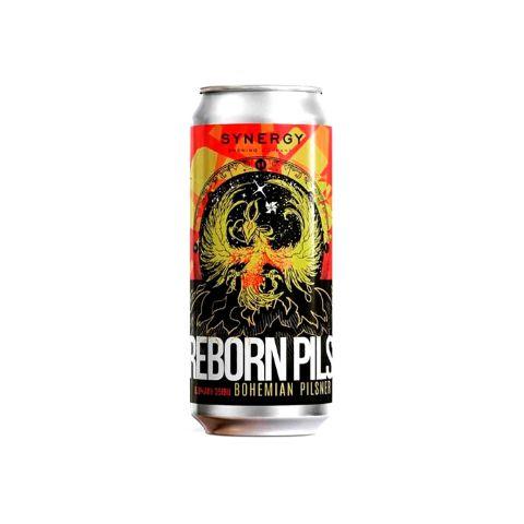 Cerveja Synergy Reborn Pils Bohemian Pilsner Lata - 473ml