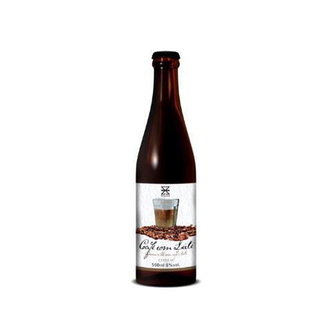 Cerveja Zalaz Café com Leite Imperial Brown Ale C/ Café e Doce de Leite - 500ml